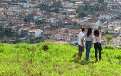 Morro do Cruzeiro em Mariana (MG)